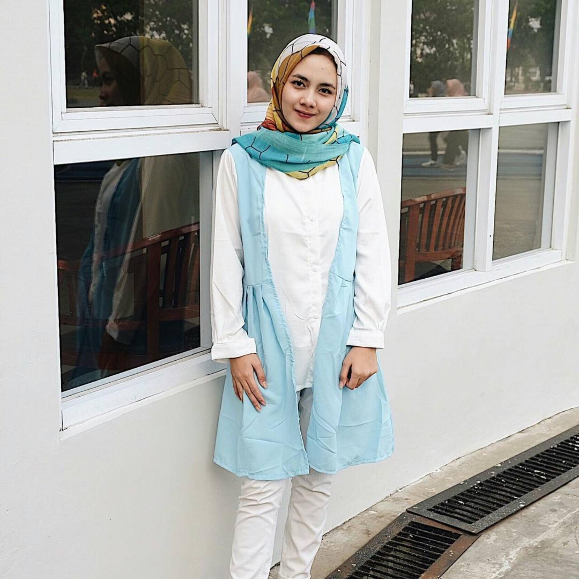 Baju Original Axana Tunik Blus Atasan Wanita Kerja Blouse Kemeja Perempuan Pakaian