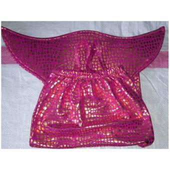 Baju Original Baju Renang Baju Putri Duyung Kostum Mermaid Pakaian Anak Ekor Ikan Pink - 3