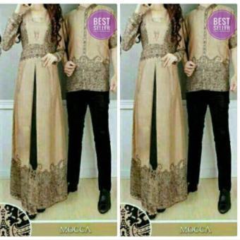 Jual Gamis Batik Sarimbit Busana Muslim Couple Zafir