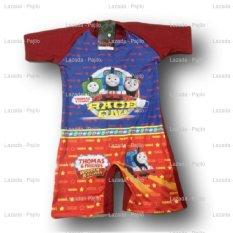 Baju Renang Anak Laki Laki Diving Boy TK SD Bayi Thomas and Friends Merah