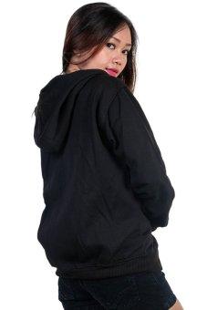 Harga Bajukitaindonesia Jaket Hoodie Zipper Polos HITAM Pria dan Wanita Terbaru klik gambar.
