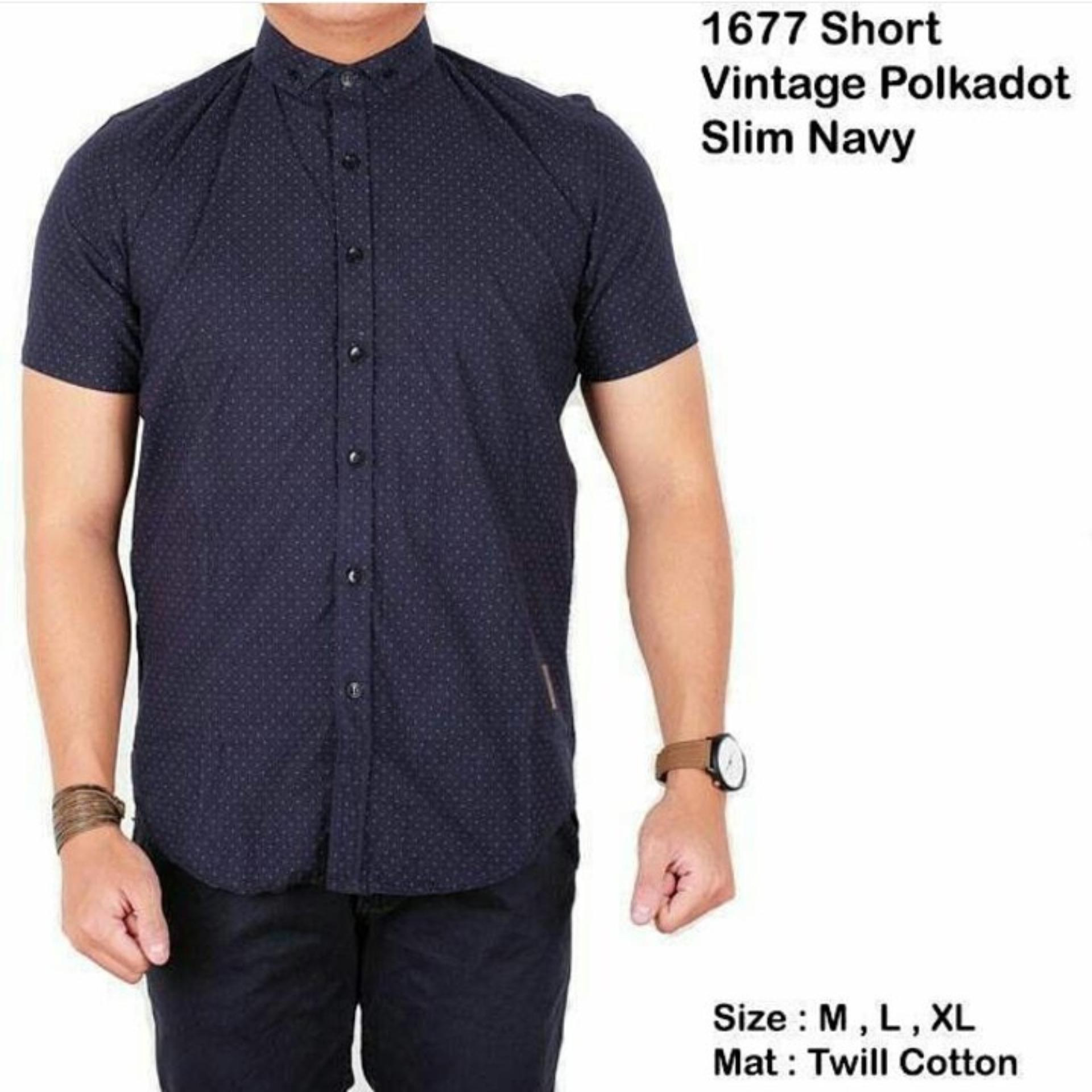 Bajuku Murah Short Simple Black Batik 5129 Daftar Harga Terbaru Source bajuku murah short vintage polkadot