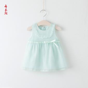Pencarian Termurah Baobao Korea Fashion Style bayi dan anak-anak renda lingkaran rompi rok putri