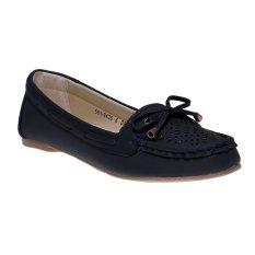 Bata Cella Flat Shoes - Blue
