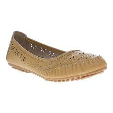 Bata Valor Flats Shoes - Beige