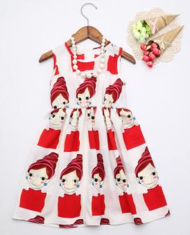 Anak Besar Perempuan Baru Gadis Sifon Gaun Hitam Daftar Update Source · Gambar Besar Korea Fashion Style sifon tanpa lengan kecil gaun putri untuk anak ...