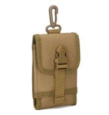 Best Tas Pinggang A27 Cowo IMPOR Tactical Bag WATERPROOF utk Dompet HP Rokok - Mud