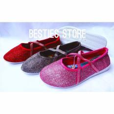 Besties Princessa-199 Glitter Sepatu Anak Sehari-hari - Random