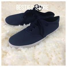 Besties Soul Casual Sneakers Sepatu Fashion Wanita - Biru Navy