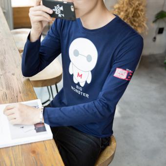 Flash Sale Kaos Oblong Pria 7XL Katun Murni Lengan Panjang Kerah Bulat Motif Cetak Ukuran Besar. Source ... Ukuran Besar Versi Korea Anggur merah.