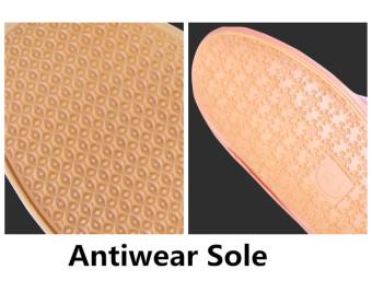 Bisa Dilipat Penutup Sepatu Tahan Air Anti Selip Sepatu Bot HujanOvershoes (Biru Laut) - 3