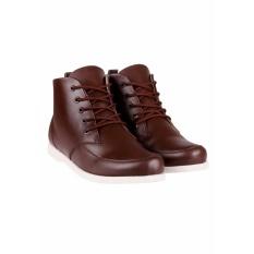 Blues Footwear Sepatu Murah Semi Boot Coklat Best Seller