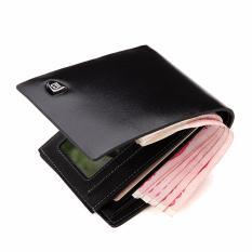 Bostanten pria Kulit Sapi Bifold Dompet dengan Deluxe Kartu Kredit Flip  Pocket . 9fabb04c2f