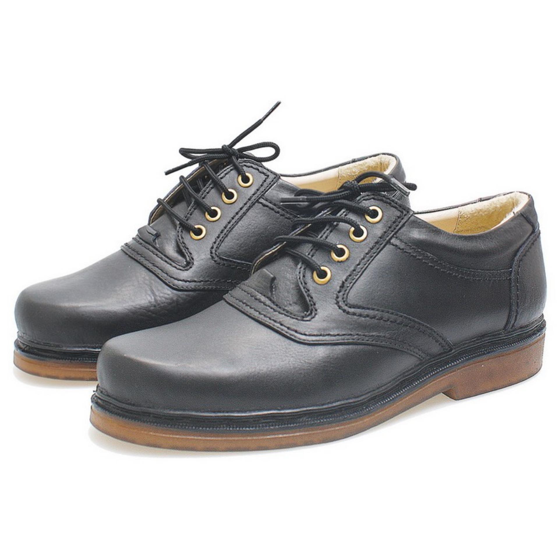 Bsm Soga Sepatu Formal Pantofel Kerja Kantor Kuliah PDH PDL Lapangan Kulit Asli Pria BFH240 -