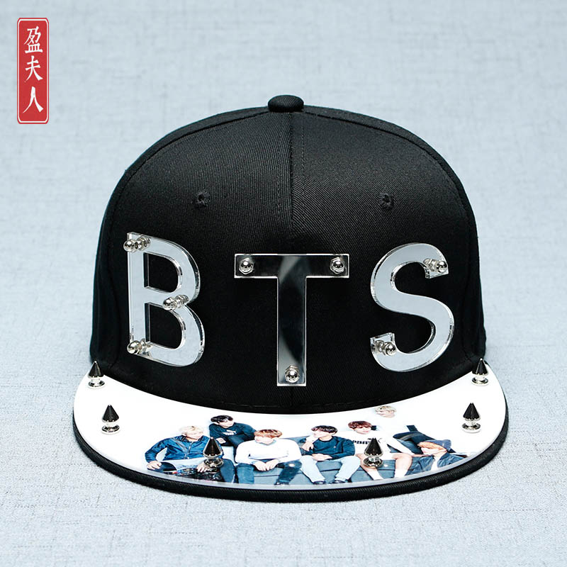 ... Perbandingan harga SHININGSTAR Korea Fashion Style warna solid ayat Source BTS cetak topi baseball ayat yang