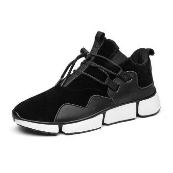 59ef3e450 Beli Byl Pria S Ringan Fashion Sneakers Bernapas Mesh Sepatu (Hitam)  Terpercaya