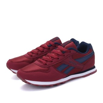 Harga BYL-S Sports Casual Men 'S Running Shoes Ventilasi sneake (Hitam) Murah