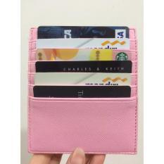 Card Holder 12Slot - Pink
