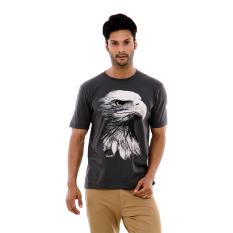 Carvil Big Eagle T Shirt Man - Grey