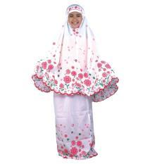 Catenzo Junior Cao 090 Mukena Muslim Anak Perempuan-Cotton-Cantik (Pink)