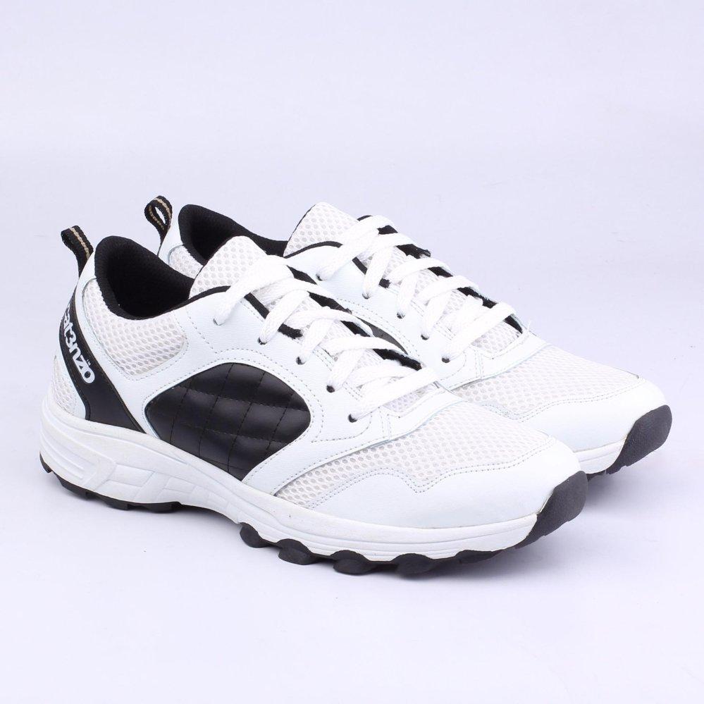 Catenzo Sport Shoes - Sepatu Lari Pria TF 138 - Black White .