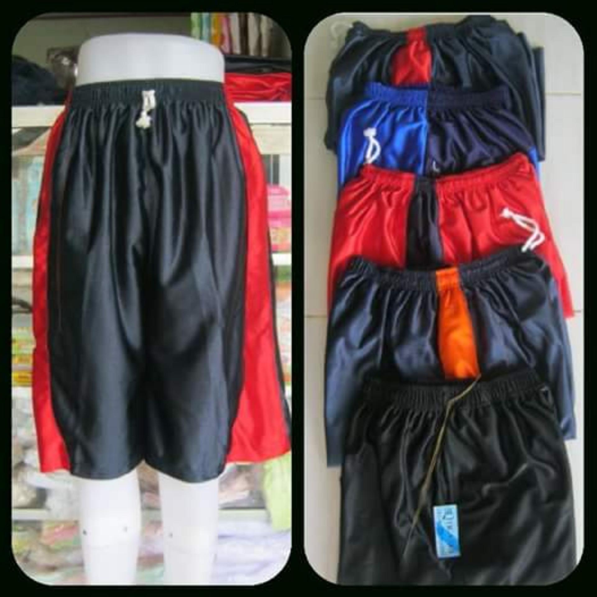 Eshop Checker Celana Basket Super Jumbo Kolor Pria Pendek Santai Polos Big Size Sizegrosir Murah