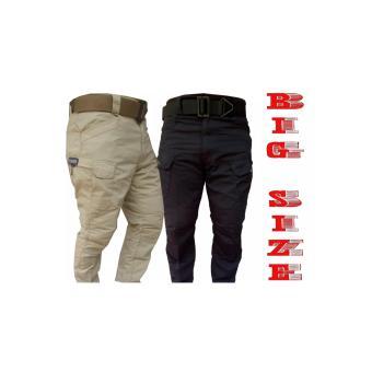 Celana Big Size Blackhawk Size 40 41 42 44 46 48 Spesial EdisiJumbo Pants Oversize Gemuk Tactical Army Militer Polisi - 2