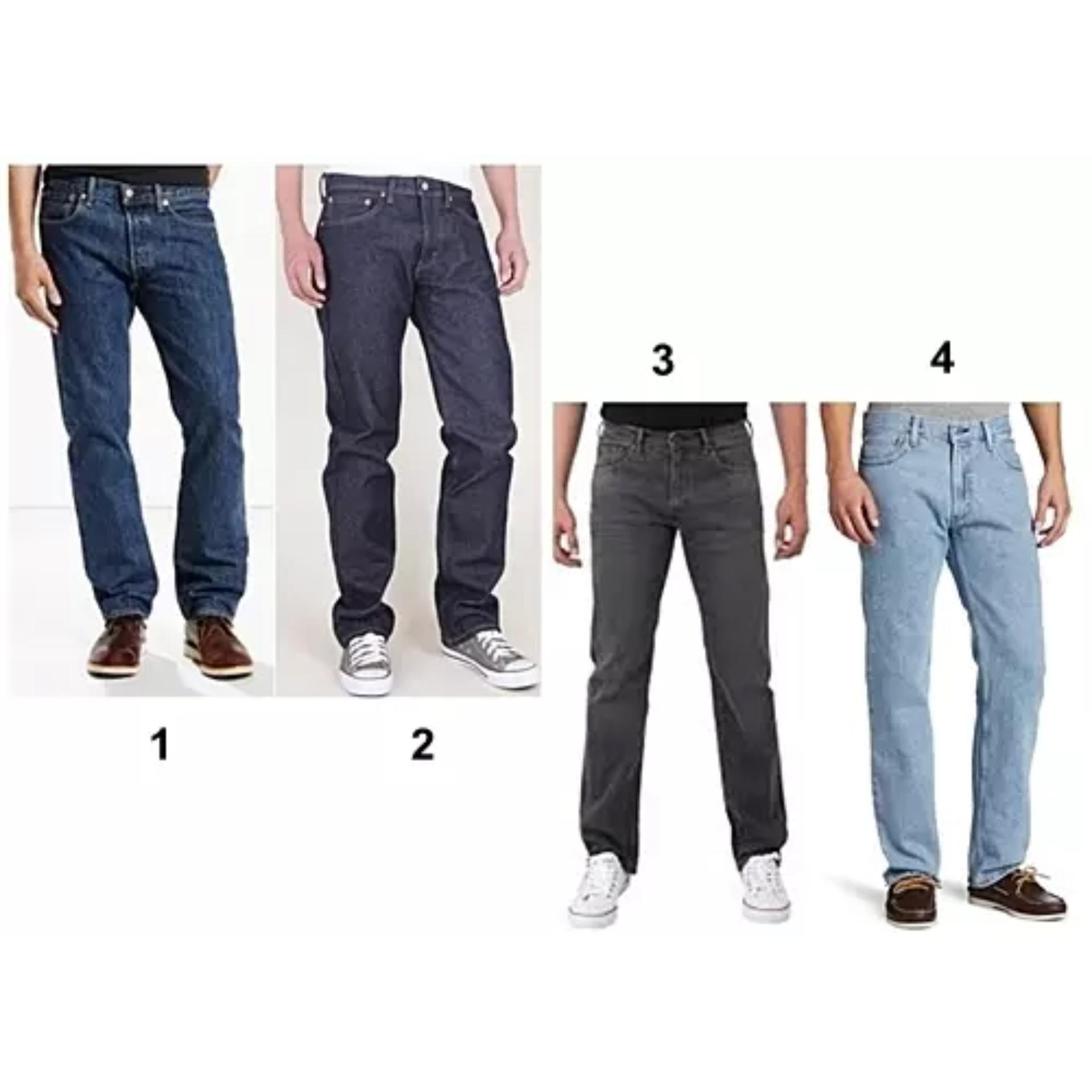 Periksa Peringkat Celana Jeans Merek Levis Standar 505 Warna Cream