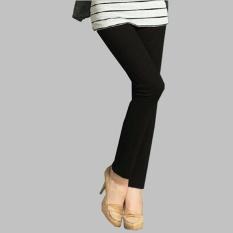 Celana legging panjang wanita jumbo long pant  Blanca - hitam