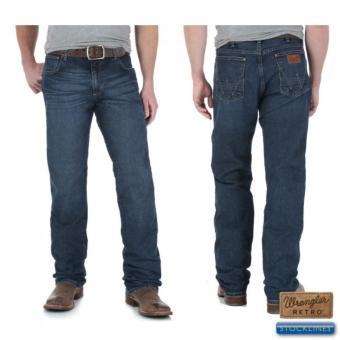 Celana Panjang Pria Jeans Stretch Skinny BLUE BLACK - 5 .