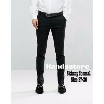 Harga Celana panjang pria skinny formal Online Terjangkau