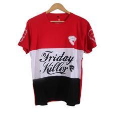 Cikitashop - Kaos T-Shirt Distro / Kaos Pria / T-Shirt Pria Anime Premium Friday Killer - Merah
