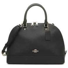 Coach Sierra LARGE Black Leather  F37218 / F57524 Authentic
