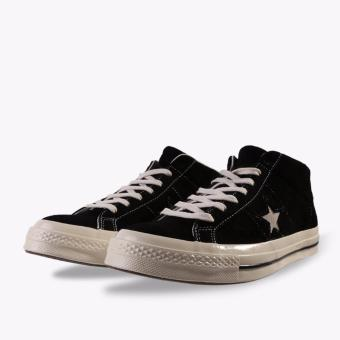 ... Converse One Star Mid Suede Men's Sneakers Shoes - Hitam - 5