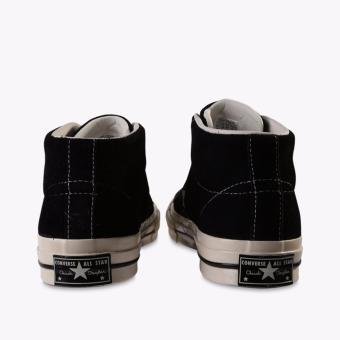 ... Converse One Star Mid Suede Men's Sneakers Shoes - Hitam ...