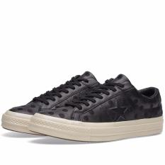 Converse Onestar 74 Embroidered Polka Leather - Black