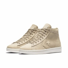 Converse Pro Leather 76 Lux Leather Vintage Hi - Beige