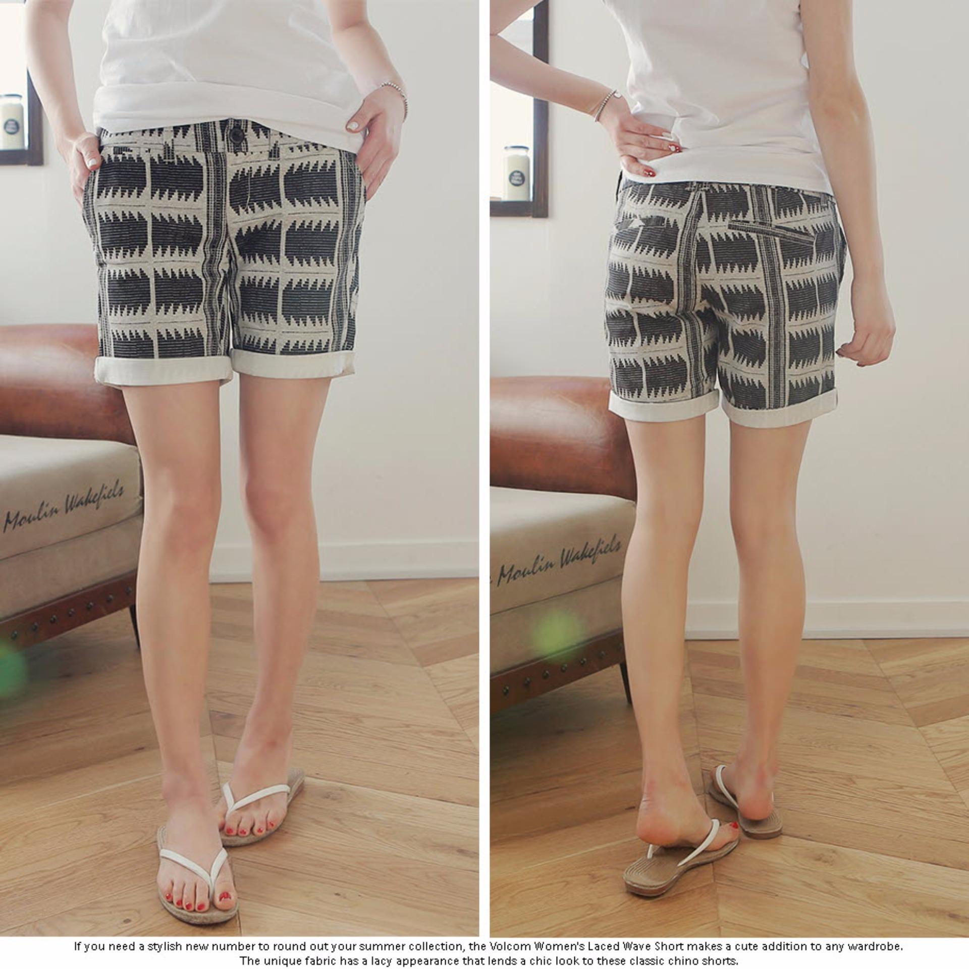 Coup Women Classic Short Celana Pendek Wanita Black Spec Dan S4 Men Bermuda Pria Korean Brand Pants Indian Bw