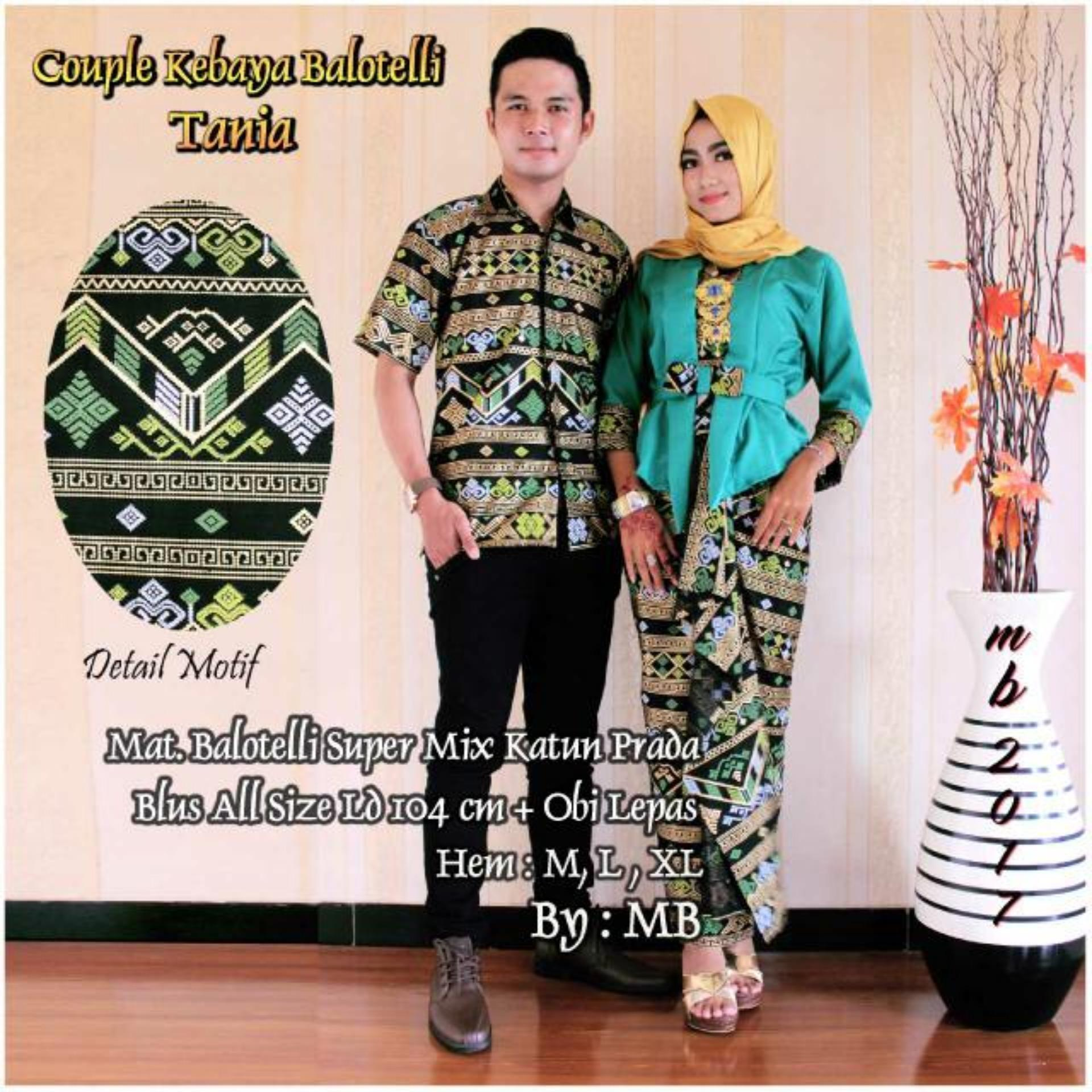 Couple Kebaya Balotelli Tania Tosca