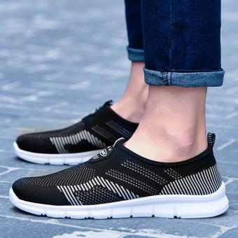 Cari Bandingkan Couple wild men and women set foot LR shoes mesh shoes  (Model laki 6da5be34fd
