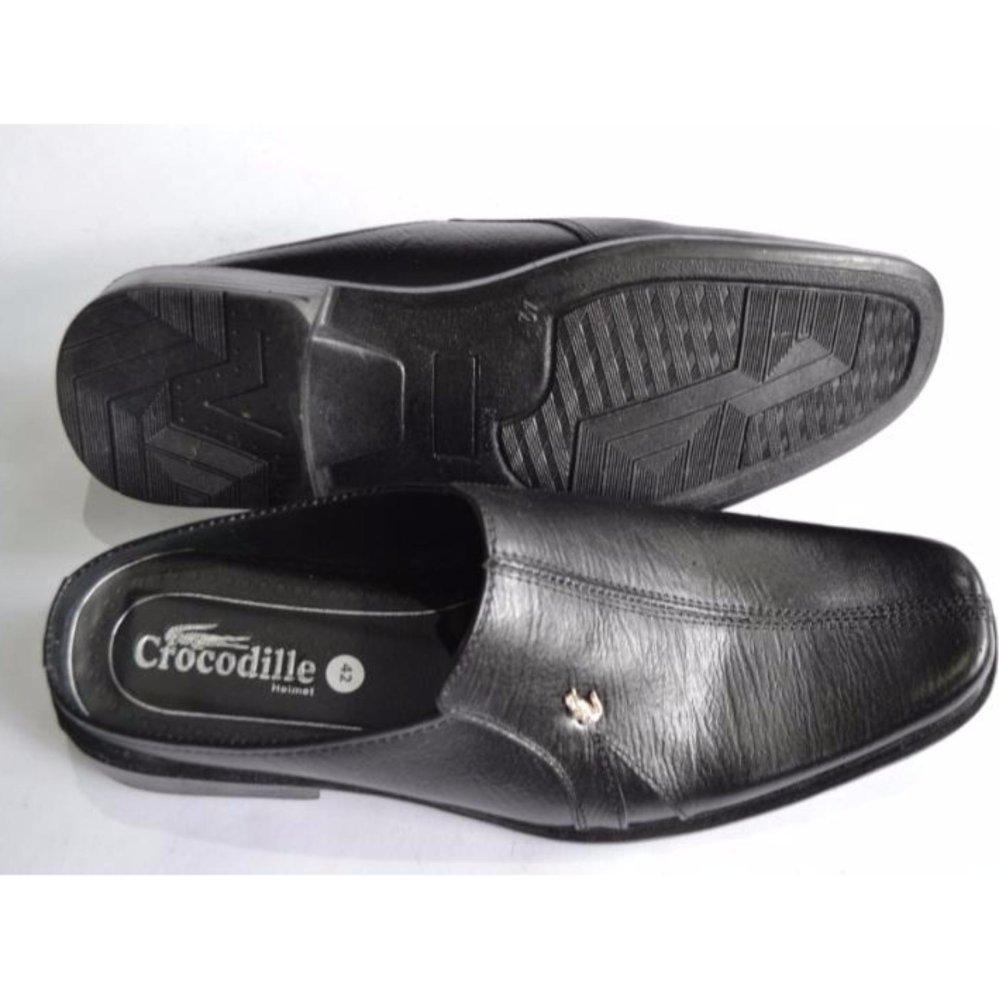 Crocodile Sepatu Sandal Selop Pria Sepatu Pria Sandal Pria - Kulit Sapi Asli Pria - A6