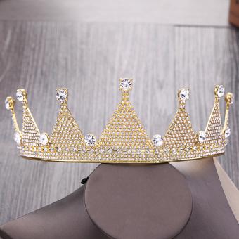 Pencari Harga Crown Istana Bergaya Eropa Flash Berlian Rambut Harga Penawaran