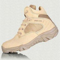 Delta Sepatu Coklat Gurun 6 inchi  DB 5450 S Outdor Original Higt Qualityt