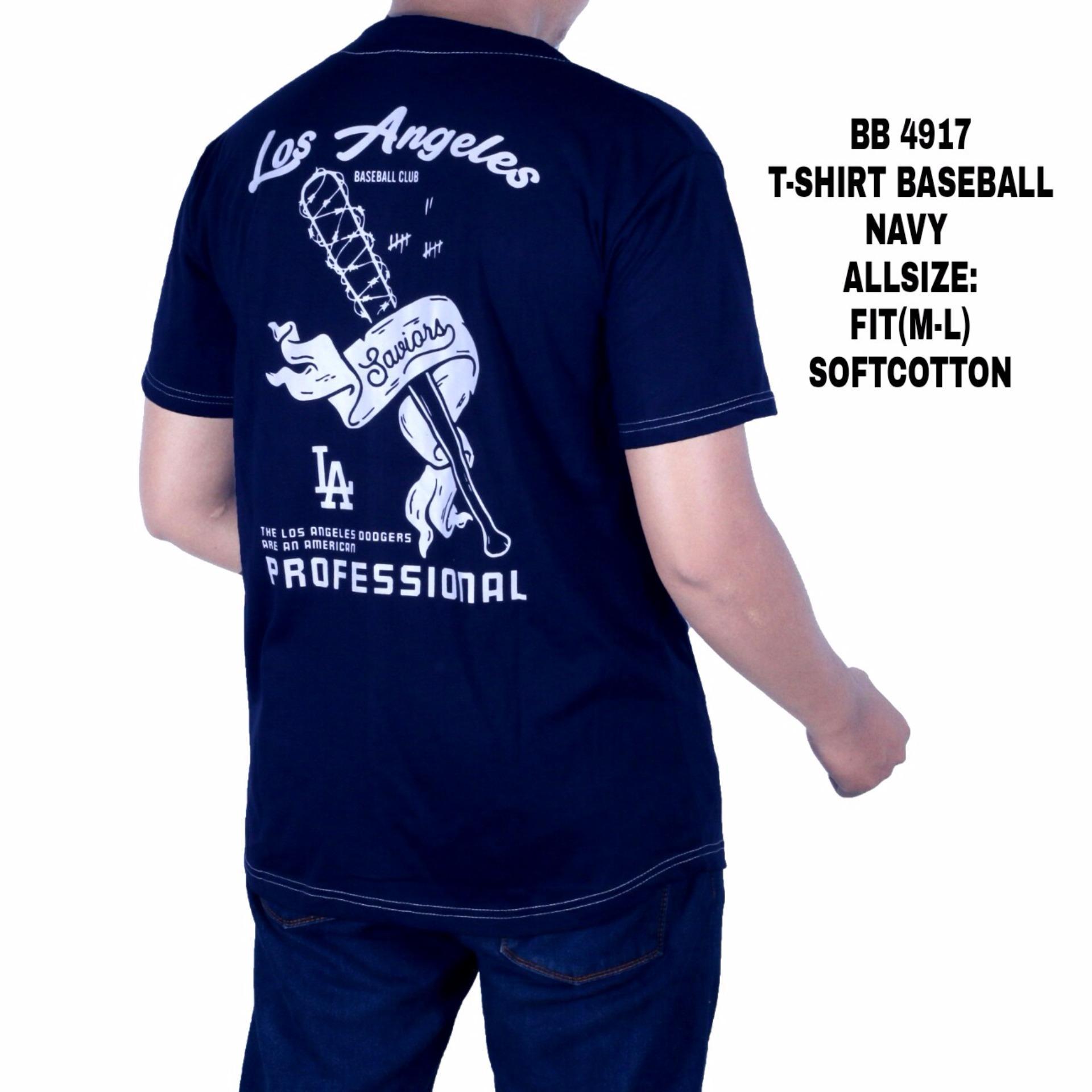 Harga Penawaran Dgm Fashion1 Kaos Baseball Distro Navy Pria Baju Terbaik