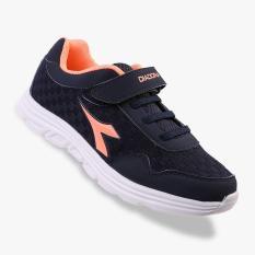Diadora Fortina Kids Sneakers Shoes - Navy
