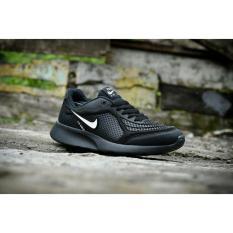 Diskon Sepatu Sport Nk Airmax Full Black Hitam