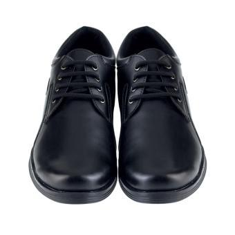Harga Distro DS 446 Sepatu Formal Pantofel Pria Untuk Kerja dan Kantor Kulit Sintetis Hitam Terbaru klik gambar.