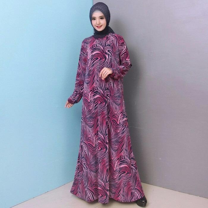 Penawaran Dnd Baju Gamis Gamis Wanita Gamis Polos Baju Muslimah