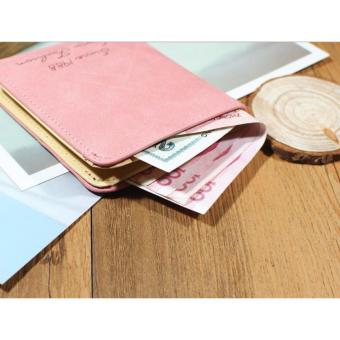 Dompet Wanita Fashion Korean Style - Pink - 5