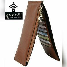 Dompet Wanita Panjang Coklat - Kartu 2side R3